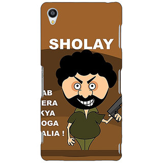 Jugaaduu Bollywood Superstar Sholay Back Cover Case For Sony Xperia Z3 - J261123