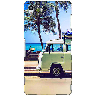 Jugaaduu Summer Van Back Cover Case For Sony Xperia Z3 - J261160