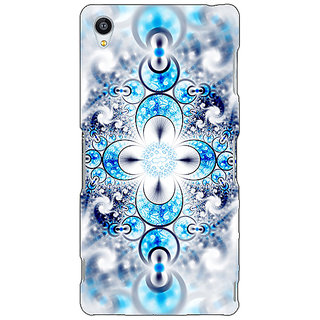 Jugaaduu Abstract Design Pattern Back Cover Case For Sony Xperia Z3 - J261511