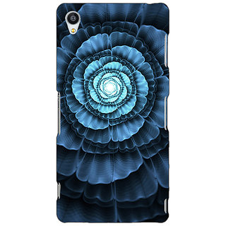 Jugaaduu Abstract Flower Pattern Back Cover Case For Sony Xperia Z3 - J261517