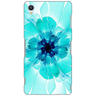 Jugaaduu Abstract Flower Pattern Back Cover Case For Sony Xperia Z3 - J261526