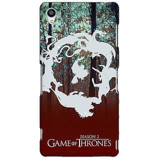 Jugaaduu Game Of Thrones GOT Houses Back Cover Case For Sony Xperia Z3 - J261527