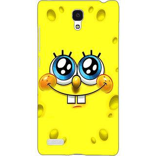 Jugaaduu Spongebob Back Cover Case For Redmi Note 4G - J240464