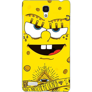 Jugaaduu Spongebob Back Cover Case For Redmi Note 4G - J240466