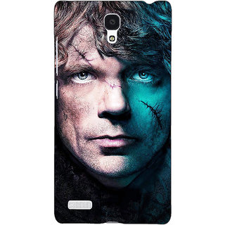 Jugaaduu Game Of Thrones GOT House Lannister Tyrion Back Cover Case For Redmi Note 4G - J241560