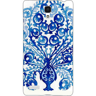 Jugaaduu Paisley Beautiful Peacock Back Cover Case For Redmi Note 4G - J241579