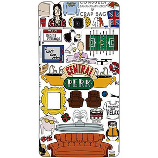 Jugaaduu TV Series FRIENDS Back Cover Case For Redmi 1S - J250342