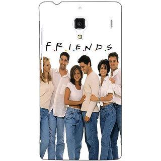 Jugaaduu TV Series FRIENDS Back Cover Case For Redmi 1S - J250345