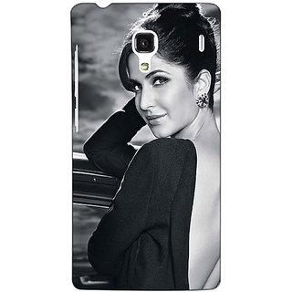 Jugaaduu Bollywood Superstar Katrina Kaif Back Cover Case For Redmi 1S - J251073