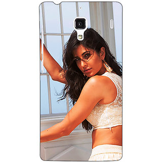 Jugaaduu Bollywood Superstar Katrina Kaif Back Cover Case For Redmi 1S - J251077