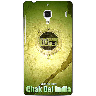 Jugaaduu Bollywood Superstar Chak De India Back Cover Case For Redmi 1S - J251082