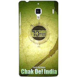 Jugaaduu Bollywood Superstar Chak De India Back Cover Case For Redmi 1S - J251082