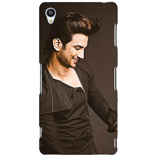 Jugaaduu Bollywood Superstar Sushant Singh Rajput Back Cover Case For Sony Xperia Z3 - J260949