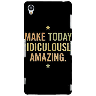 Jugaaduu Quotes Beautiful Back Cover Case For Sony Xperia Z3 - J261192