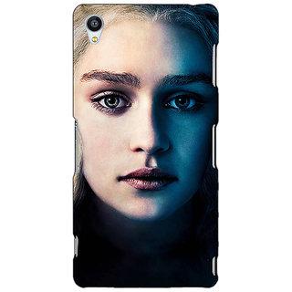 Jugaaduu Game Of Thrones GOT Khaleesi Daenerys Targaryen Back Cover Case For Sony Xperia Z3 - J261551