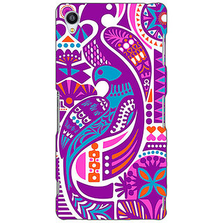 Jugaaduu Paisley Beautiful Peacock Back Cover Case For Sony Xperia Z3 - J261580