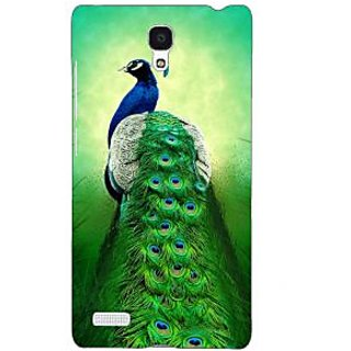 Jugaaduu Paisley Beautiful Peacock Back Cover Case For Redmi Note 4G - J241599