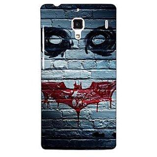Jugaaduu Villain Joker Back Cover Case For Redmi 1S - J250028