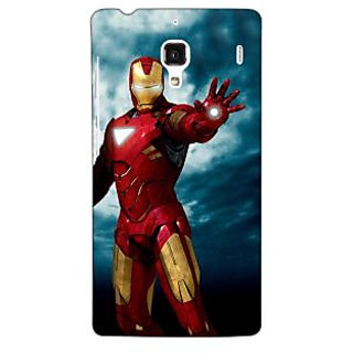 Jugaaduu Superheroes Ironman Back Cover Case For Redmi 1S - J250031