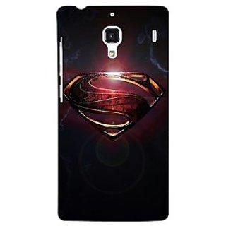 Jugaaduu Superheroes Superman Back Cover Case For Redmi 1S - J250035