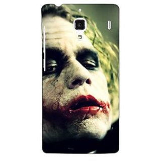 Jugaaduu Villain Joker Back Cover Case For Redmi 1S - J250036