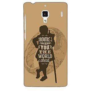 Jugaaduu LOTR Hobbit  Back Cover Case For Redmi 1S - J250368