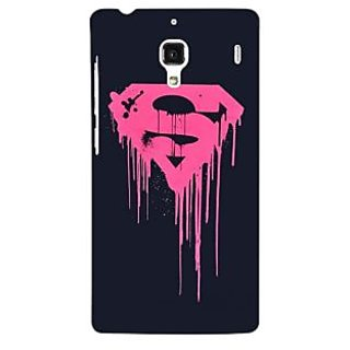 Jugaaduu Superheroes Superman Back Cover Case For Redmi 1S - J250379