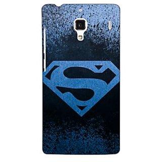 Jugaaduu Superheroes Superman Back Cover Case For Redmi 1S - J250393