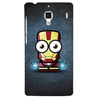 Jugaaduu Big Eyed Superheroes Iron Man Back Cover Case For Redmi 1S - J250396