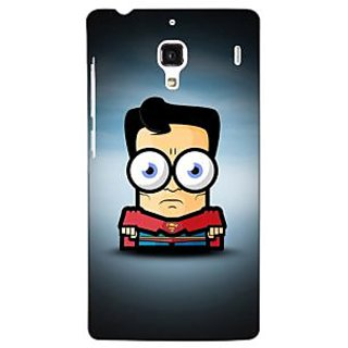 Jugaaduu Big Eyed Superheroes Superman Back Cover Case For Redmi 1S - J250397
