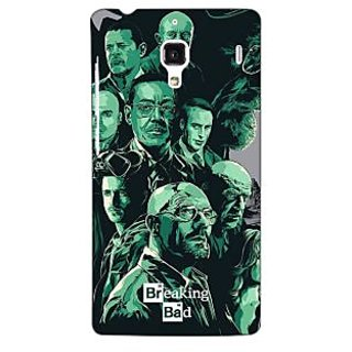 Jugaaduu Breaking Bad Heisenberg Back Cover Case For Redmi 1S - J250401