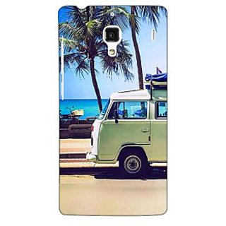 Jugaaduu Summer Van Back Cover Case For Redmi 1S - J251160