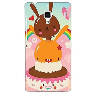 Jugaaduu Cartoons Back Cover Case For Redmi 1S - J251163