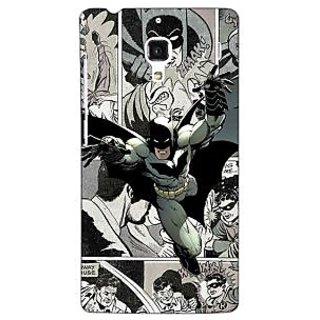 Jugaaduu Batman Comic Back Cover Case For Redmi 1S - J251443
