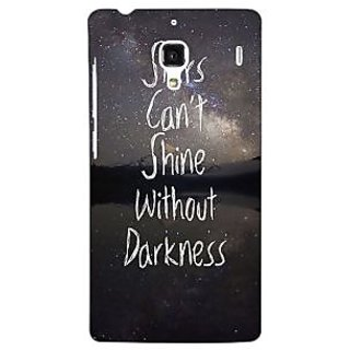 Jugaaduu Quote Back Cover Case For Redmi 1S - J251478