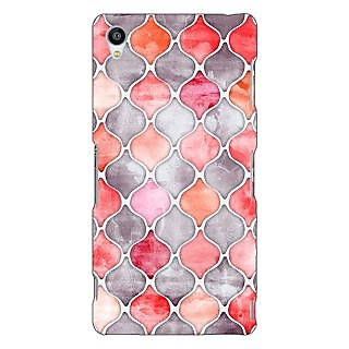 Jugaaduu Morrocan Pattern Back Cover Case For Sony Xperia Z3 - J260224