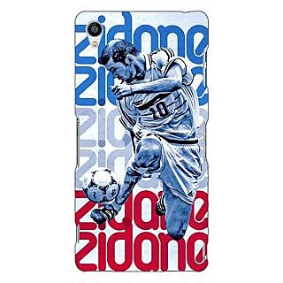 Jugaaduu Real Madrid Zidane Back Cover Case For Sony Xperia Z3 - J260590