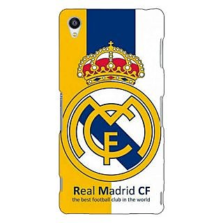 Jugaaduu Real Madrid Back Cover Case For Sony Xperia Z3 - J260591