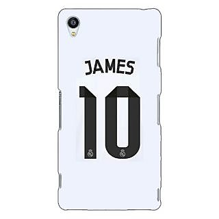 Jugaaduu Real Madrid James Rodriguez Back Cover Case For Sony Xperia Z3 - J260592