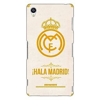 Jugaaduu Real Madrid Back Cover Case For Sony Xperia Z3 - J260593