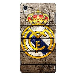 Jugaaduu Real Madrid Back Cover Case For Sony Xperia Z3 - J260596