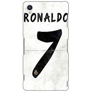 Jugaaduu Real Madrid Ronaldo Back Cover Case For Sony Xperia Z3 - J260598