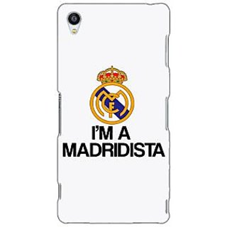 Jugaaduu Real Madrid Back Cover Case For Sony Xperia Z3 - J260599