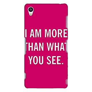 Jugaaduu Quote Back Cover Case For Sony Xperia Z3 - J261225