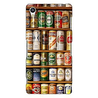 Jugaaduu Beer Cans Back Cover Case For Sony Xperia Z3 - J261233