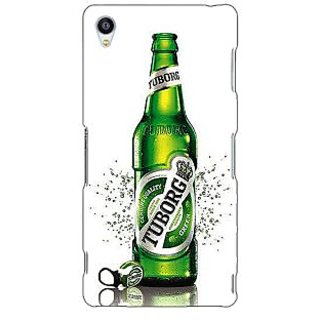 Jugaaduu Tuborg Beer Back Cover Case For Sony Xperia Z3 - J261244
