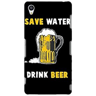 Jugaaduu Beer Quote Back Cover Case For Sony Xperia Z3 - J261262