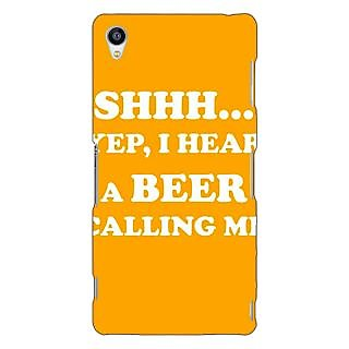 Jugaaduu Beer Quote Back Cover Case For Sony Xperia Z3 - J261263