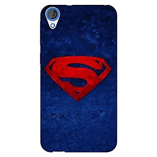Jugaaduu Superheroes Superman Back Cover Case For HTC Desire 820 - J280022