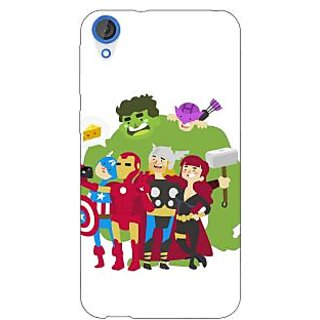 Jugaaduu Superheroes Baby Avengers Back Cover Case For HTC Desire 820 - J280337